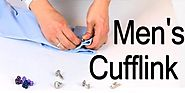 Our mens cufflinks make you very noticeable big person