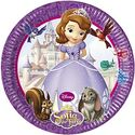 Sofia Party Plates - at PartyWorld Costume Shop