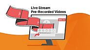 How To Live Stream A Pre-Recorded Video To Facebook And Youtube - BeLive Blog