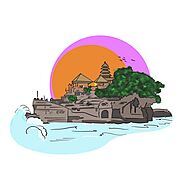 Pura Tanah Lot - Bali's Most Beautiful Sea Temple.