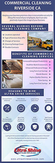 Commercial Cleaning Company Riverside CA [Infographic]