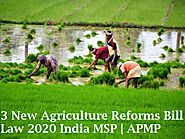 3 New Agriculture Reforms Bill Law 2020 India MSP | APMP | कृषि सुधार बिल in Hindi | Jobklix