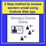 3 step method to access western email using Outlook Web App | Jobklix