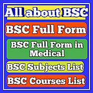 BSc Full Form, Subjects, Courses, Types | Jobklix