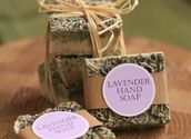 Lavender Soap Recipe - Homemad Gifts Made Easy