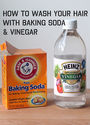 How to Wash Your Hair with Baking Soda and Vinegar - In Sonnet's Kitchen