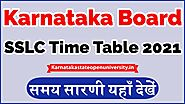 Website at https://karnatakastateopenuniversity.in/kseeb-sslc-time-table.html