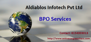 Aldiablos BPO Ltd Different Types of Services Offered