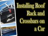 Installing Roof Rack And Crossbars on a Car
