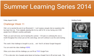 Summer Learning Series 2014
