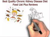 Best Quality Chronic Kidney Disease Diet Food List Plus Reviews