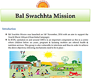 National Bal Swachhta Mission ~ My Experiences
