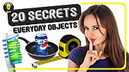 Discover 20 Secret Uses of Everyday Objects