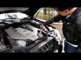 Mercedes-Benz. Car maintenance. Save the engine.