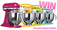 Win a KitchenAid Mixer in the Color of Your Choice