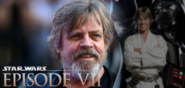 Adam Driver And Mark Hamill On STAR WARS EPISODE VII: THE FORCE AWAKENS