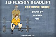 Jefferson Deadlift Exercise Guide: How To Do, Benefits, Tips