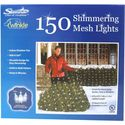 Twinkle Net Lights - 4'x6' Shimmering Mesh 150 mesh lights