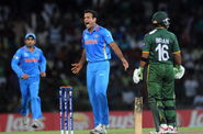 Irfan Pathan has most wickets without playing a World Cup