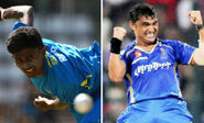 Isuru Udana and Pravin Tambe are the only bowlers to record a two-ball hat-tricks