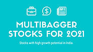 Best Multibagger Stocks to Buy Now in India (2021) - ViniyogIndia.com