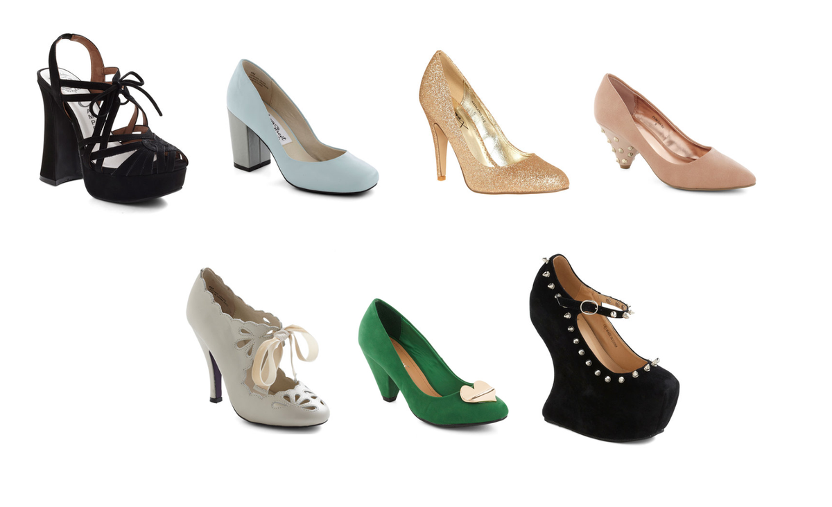 Headline for 10 Kinds of Heels Every Woman Should Have