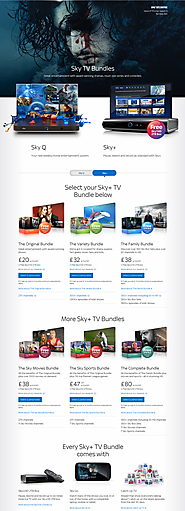 Sky TV – Get Started With Sky TV