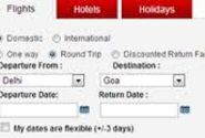 Online travel booking solutions