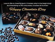 Happy Chocolate Day Wishes 2021 - Quotes, Status, Messages, & Images - Happy Festivals