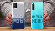 Samsung Galaxy M31s vs OnePlus Nord: Price in India, Specifications Compared