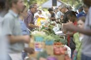 Eat Healthy, Give Healthy! Food drive at Clark Park Farmers' Market