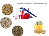 Cost effective solution of biomass briquetting