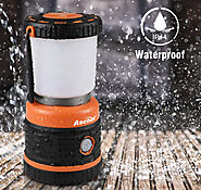 Ascher USB Rechargeable Camping Lantern