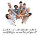 Leadership in a Not-For-Profit Association - BEALEADER | BY LEADERS FOR LEADERS