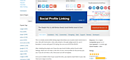 Social Share | Social Profile Linking