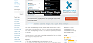 Feeds | Easy Twitter Feed Widget Plugin