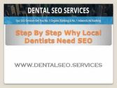 Step By Step Why Local Dentists Need SEO - Youtube
