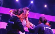 Gauahar Khan slapped