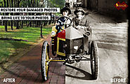 Photo Restoration Services to Your Old and Damaged Photographs