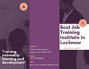 Best Job Training Institute In Lucknow