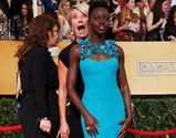 Emma Thompson and Lupita Nyongo