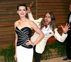 Jared Leto and Anne Hathway