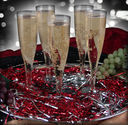 Bulk Plastic Champagne Glasses - Inexpensive and Shatterproof