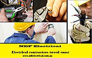 Electrical contractors tweed coast - NDF Electrical