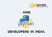 Hire Python developers in India | DxMinds