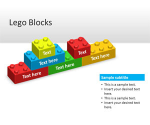 Free Lego Blocks PowerPoint Template - Free PowerPoint Templates - SlideHunter.com