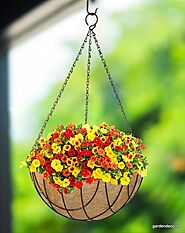 Coir hanging baskets | Coir Products | Buy Coco hanging Baskets Online