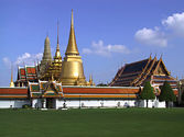 City, temples and Grand Palace