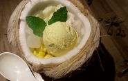 I-Dtim Mat Phrao /Coconut Ice Cream