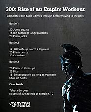 300: Rise of an Empire Bodyweight Workout